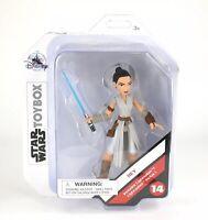Star Wars The Rise of Skywalker Toybox Rey Action Figure W/ Lightsaber #14 BNIB