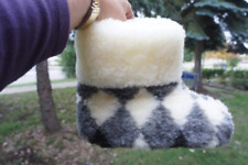 Authentic Sheepskin / Sheep wool Slippers For WOMEN. Made in Europe. USA Seller.