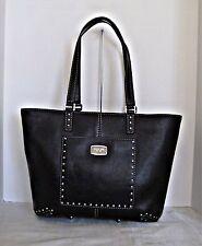 Michael Kors- Astor Large Leather Tote - Black