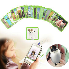 Toys 3D Animals Augmented Reality Interactive Card Game Early Education Kids