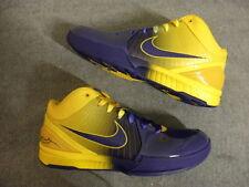 Nike Air zoom Kobe IV 4 FOUR RINGS Lakers size 11 DS NEW NIB OG Original RARE PE