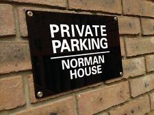 No hay aparcamiento privado Acrílico Grande Personalizado mantener clara señal resistente a la intemperie