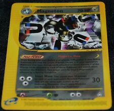 Magneton # 22/147 E-Set: Aquapolis Pokemon Trading Cards Rares Metal NM