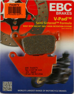 EBC V Rear Brake Pads Harley Davidson Sportster XL 883 1200 XR 1200 FA387V