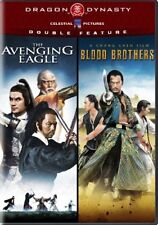 THE AVENGING EAGLE + BLOOD BROTHERS New DVD Dragon Dynasty Double Feature