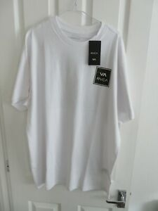 RVCA Va All The Way T-Shirt - White - Brand new with tags.
