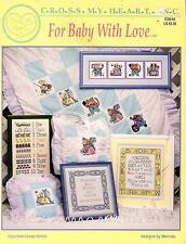 CROSS Stitch libro del bambino con amore CROSS My Heart Inc da Melinda