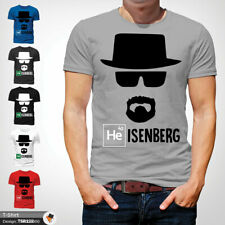 Breaking Bad Mens Tshirt T Shirt Gray T-Shirt Heisenberg Large Cotton 2XL 3XL