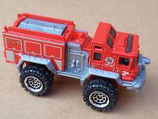 2013 Matchbox BLAZE BLASTER 3/120 Heroic Rescue LOOSE Red
