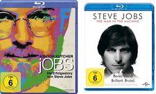 2 Blu-rays * STEVE JOBS SET (ERFOLGSSTORY / THE MAN IN THE MACHINE) # NEU OVP $+