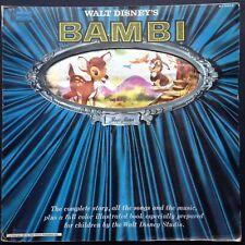 Walt Disney's Story of BAMBI LP 1942 [Magic Mirror] Frank Churchill Edward Plumb