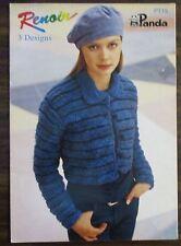 Panda Renoir Ladies Knitwear 3 designs  leaflet no.PG 15