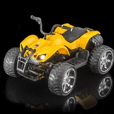 SPORTrax ATV MX400 Kid's Ride On Vehicle, Battery Powered w/FREE MP3 Player- Ylw