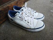 Vintage Women's Classic K Swiss White Leather Sneaker 8