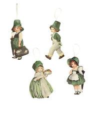 Bethany Lowe St Patrick's Day Luck O The Irish Ornament Set/4 Decorations Rl8230