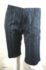 FREEMAN T PORTER W 31 Taille 40 NEUF Superbe bermuda pantacourt femme noir rayur