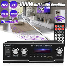 More details for  800w bluetooth amplifier digital hifi usb home car stereo power stereo