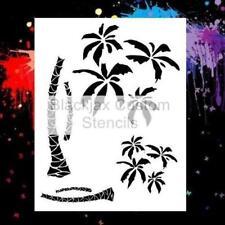 Palm Trees 02  Airbrush Stencil,Template