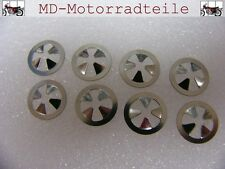 Honda CB 750 Four K0 K1 K2 Emblem Clip Set für Seitendeckel Nut, speed Set F-17
