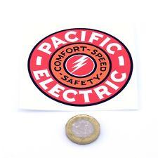 Pacific Electric Pegatina Clásico ferroviaria Ferrocarril Vintage Retro Vinilo Calcomanía 75mm