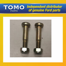 Genuine New Ford Fiesta & Ford  KA PAIR Of Front Lower Arm Pinch Bolts & Nuts