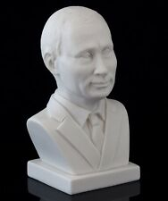 "Vladimir Putin Russian President Marble Bust Sculpture Stone Figurine 4 5/16"""