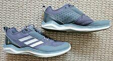 Adidas SPG 753001 Mens Size 12 Gray Running Training Shoes mesh upper