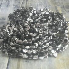 Natural Shell, Nugget, 5.2-9 x 5-8 x 4-7mm Black/White,  Free Postage Oz Seller