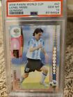 2006 Panini World Cup Soccer Germany #47 Lionel Messi PSA 10 GEM MINT WC Rookie
