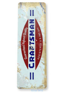 Craftsman Tools Sign C282