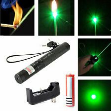 532nm 303 Green Laser Pointer Pen Visible Beam Light Lazer 18650 Charger