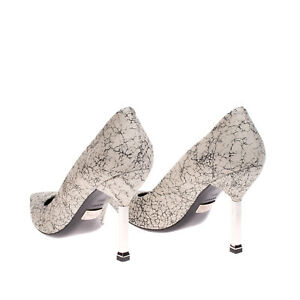 RRP €665 MICHAEL KORS COLLECTION Leather Court Shoes IT39.5 EU40.5 UK7.5 US9.5