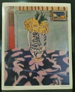 Henri Matisse 1911 Les Coucous, Tapis Bleu et Rose Art-Print (285B)