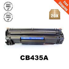 20PK CB435A 35A Black Toner Cartridge For HP Laserjet P1005 P1006 P1003 Printer