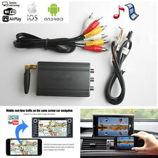 Auto Car Miracast Airplay Android IOS Smartphone Screen WiFi Mirror Link Mirabox