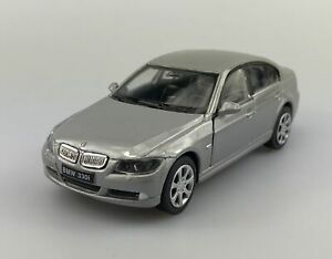 WELLY BMW 330i SILVER 1:34 DIE CAST METAL MODEL NEW IN BOX