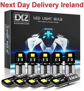 LED Canbus Light Bulbs 6000K White Car Interior Parking Lights Error Free 12V