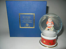 Hutschenreuther Schneekugel 2003 Nikolaus - Erstausgabe (meine Pos-Nr. 2003-1)