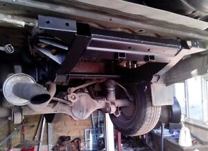 Discovery 2 rear chassis repair