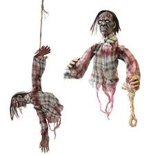 80cm Colgante de movimiento de sonido animados Halloween Decoración de movimiento Zombie Party Prop
