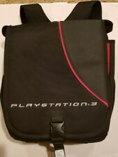 Sony Playstation 3 Padded System Backpack Travel Bag Carrying Case Bag PS3