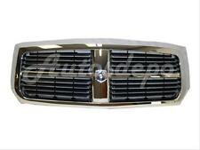 For 2005-07 Dodge Dakota Pickup Grille Black W/Chrome Frame
