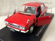 Nissan Datsun 510 [1969] BLUEBIRD 1600 SSS Red 1:24 Deluxe Die-cast Scale Model