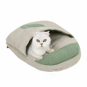 Cat House Cat Home Cat Bed Pets Cat Cave Bed Cat Sleeping Bed Cave Bed U3Y0