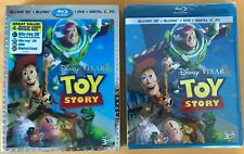 Disney Pixar Toy Story 3D with lenticular slipcover blu-ray DVD sealed oop