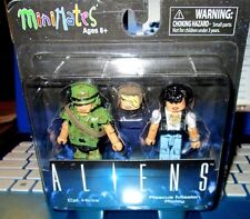 MINIMATES ALIENS CPT.HICKS & RIPLEY(EXTRA HEAD HICKS) 2-INCH ACTION FIGURES
