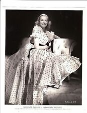 FLORENCE GEORGE in COLLEGE SWING/1938/glamour shot/George's 1st movie