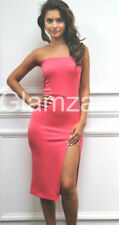 Vestiti da donna senza maniche alti rosa