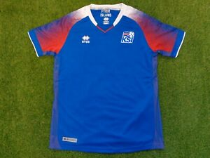 ERREA ICELAND 2018/19 HOME JERSEY YOUTH SZ XXS SUIT 10-12 YEAR OLDS BRAND NEW