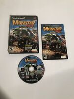 Monster 4x4 Masters of Metal (Sony PlayStation 2, 2003) PS2 Complete w/ Manual